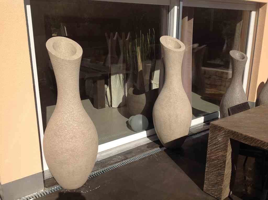 Ausstellung Skulpturen Amphoren, Standort Schweiz