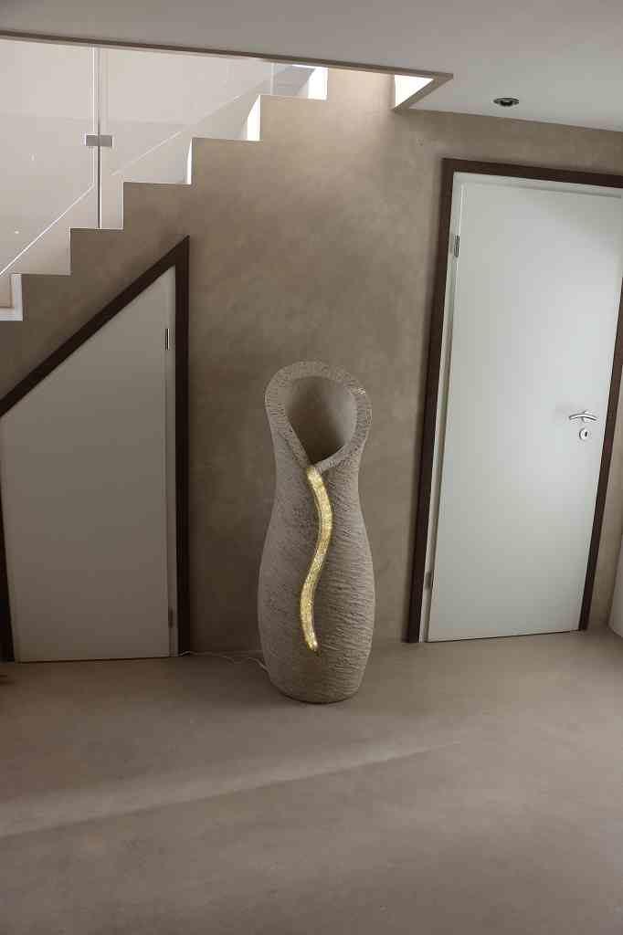 Amphore hellgrau, Skulptur